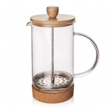 French Press kafetier CORK 1 L